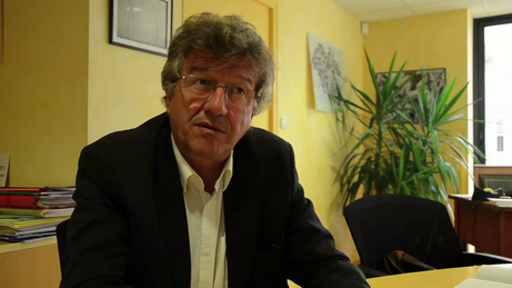 Capture d'image de l'interview de Bernard Poirier.